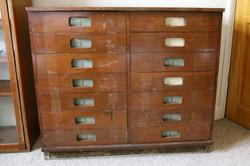 Vintage school, office etc furniture