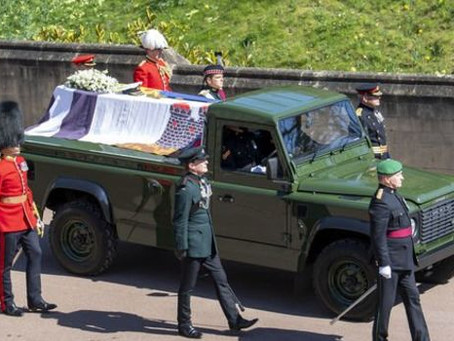 Prince Philip Chooses a Land Rover for His Funeral Hearse
