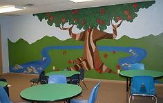 CEC Kids Kingdom Garden of Eatin Mural s