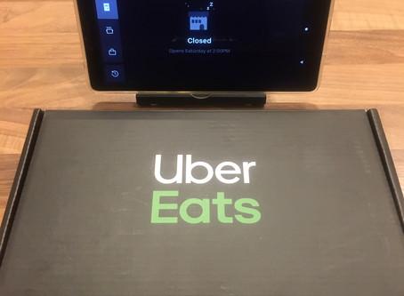 UberEats starts