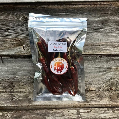 Ring of Fire Dried Chillies 15g
