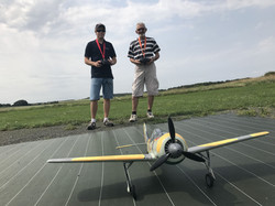 Stage pilotage warbird aéromodélisme