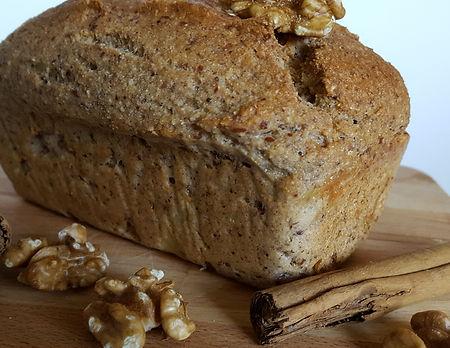 Walnut grain free bread made at home