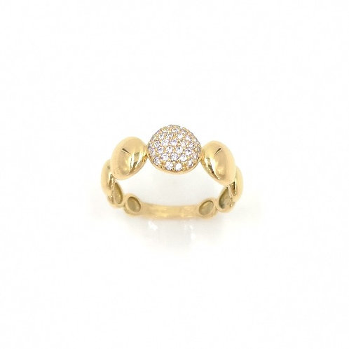 Anello Gold Bubbles