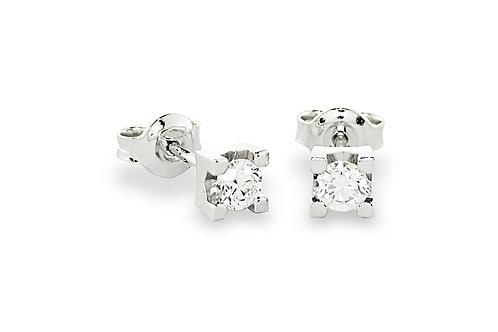 Orecchini Punto Luce a Griff con Diamante