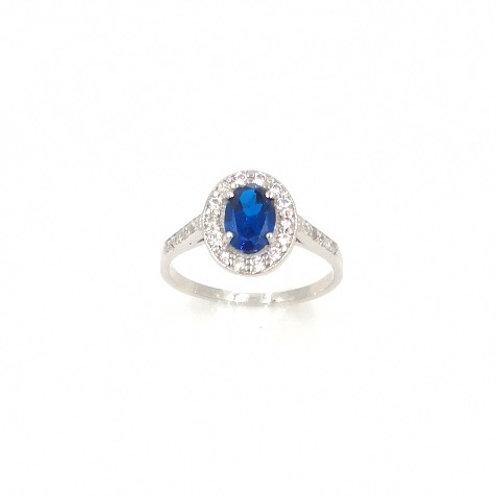 Anello Diana Blue
