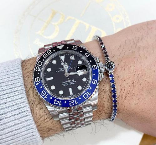 BTB Sapphires and Black Diamonds