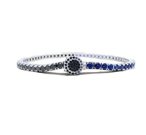 B.T.B. Sapphires and Black Diamonds