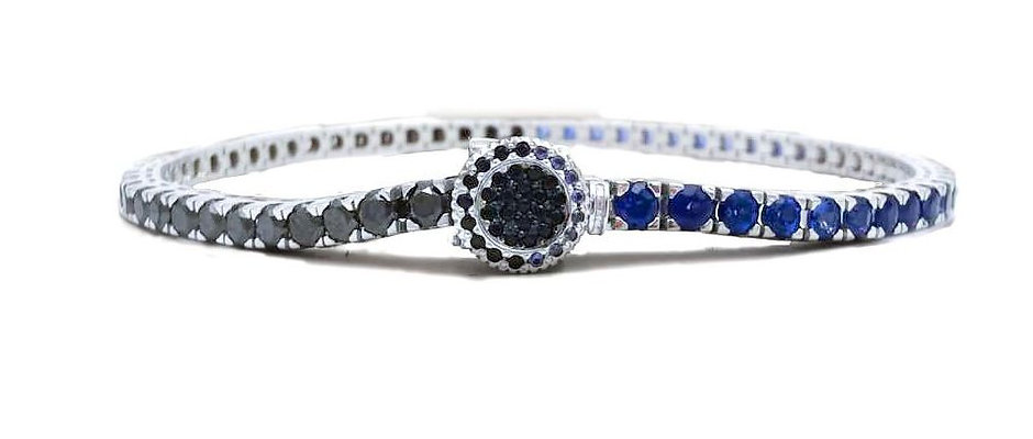 B.T.B. Sapphires and Black Diamonds