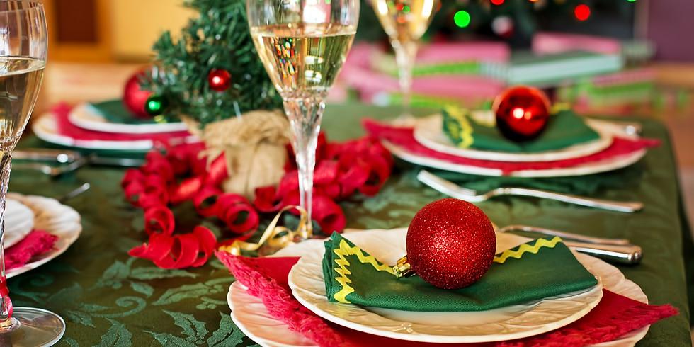 Christmas Dinner at Butchers' Hall