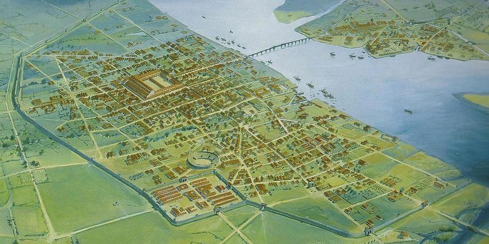 Virtual presentation on Roman London hosted by Dr Simon Elliott
