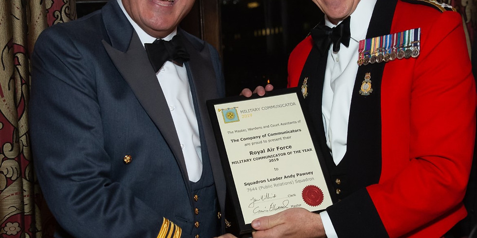 Military Communicator of the Year Awards, 2020 presented by the Lord Mayor of the City of London