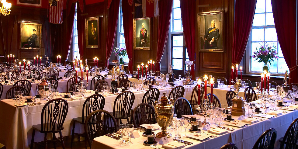Annual Military Dinner at the Honourable Artillery Company
