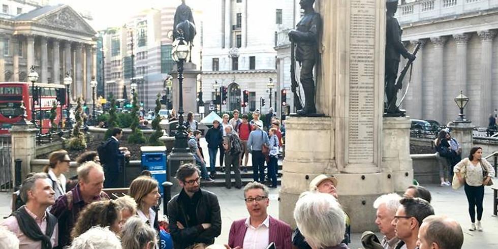 "Virtual Tour of London's famous ""Square Mile"""