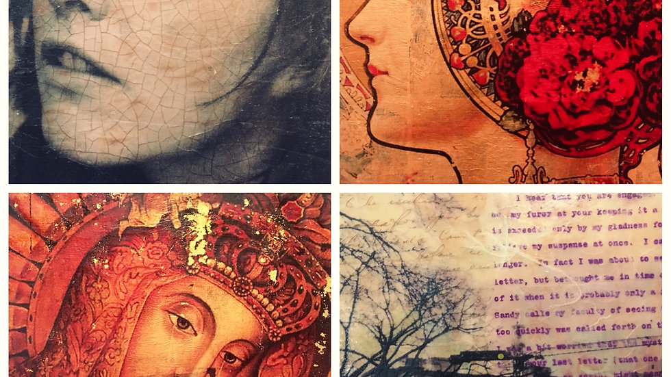 Water Media and Encaustic Art Camp for Adults!
