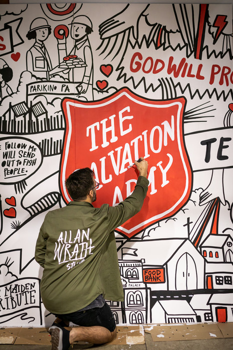 SALVATION ARMY MURAL
