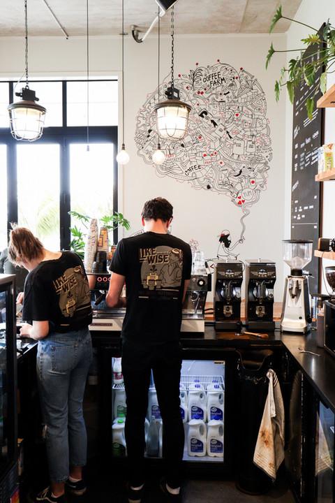 COFFEE GENERAL MILLWATER MURAL