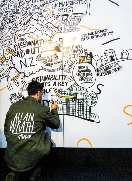 VISUAL RECORDING INFRA NZ 2019