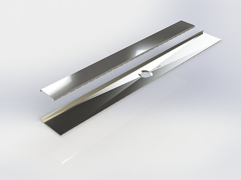 Shower linear drain 55 5/8''