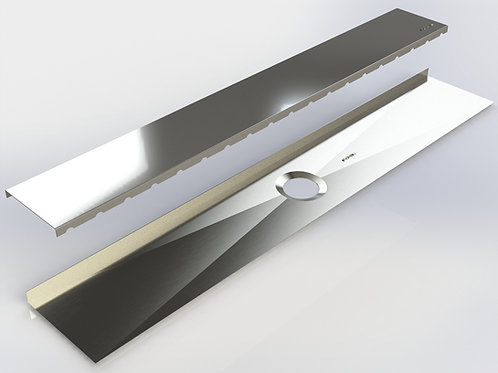 Shower linear drain 43 5/8''