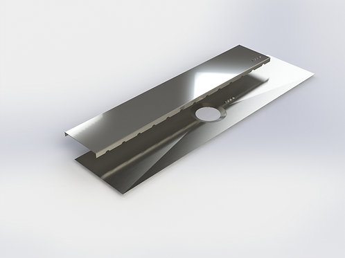 Shower linear drain 27 5/8''