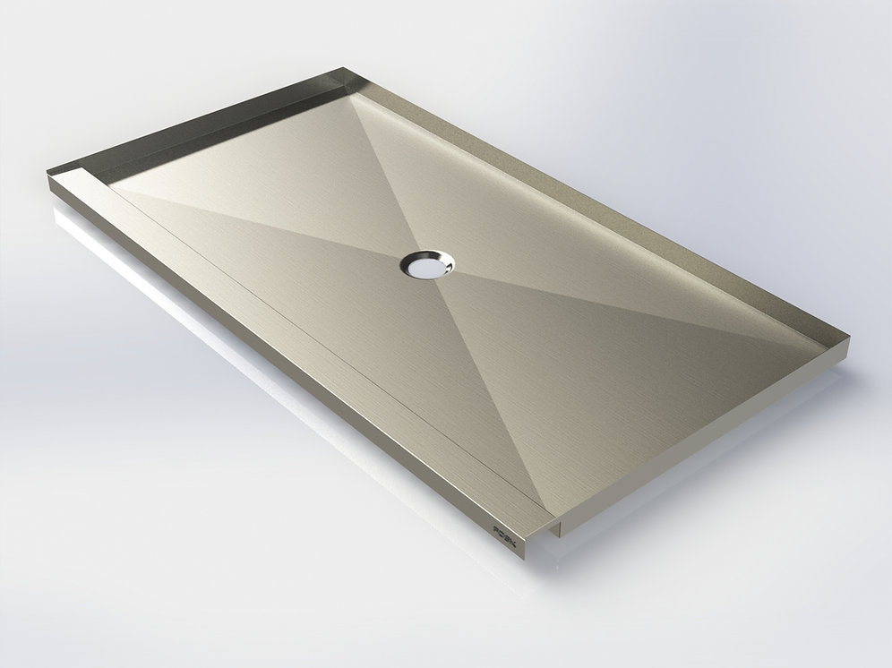 Stainless Steel Shower Pan.Stainless Steel Shower Base 32 36 X 40