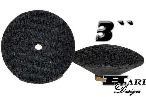 "Support Velcro - Convexe - 3"""