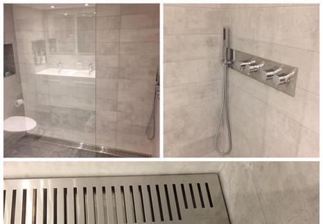 Drain de douche et ensemble de valve de douche