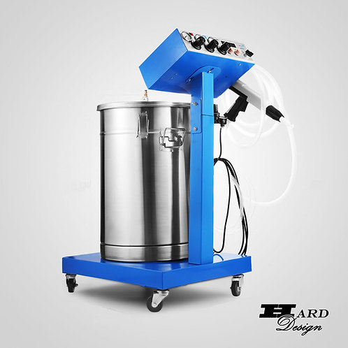 ELECTROSTATIC POWDER COATING MACHINE INDUSTRIAL PAINT SYSTEM SPRAY GUN