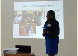 Dr. Isabella Epiu, A call for action on womens empowerment, 2015