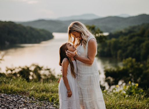 Macey & Mom - Portrait Session in Knoxville, TN