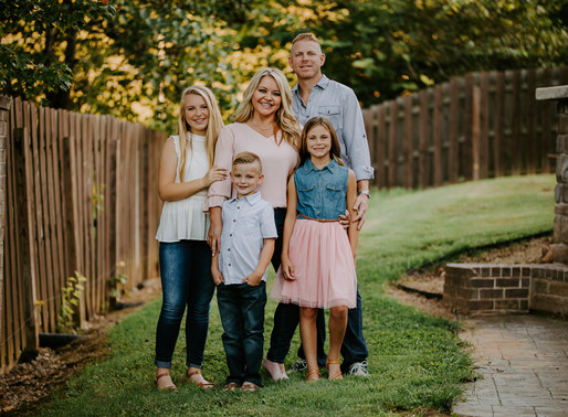 The Taylor Fam • Knoxville Family Session