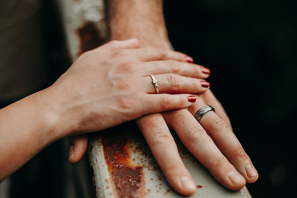 engagement session rings