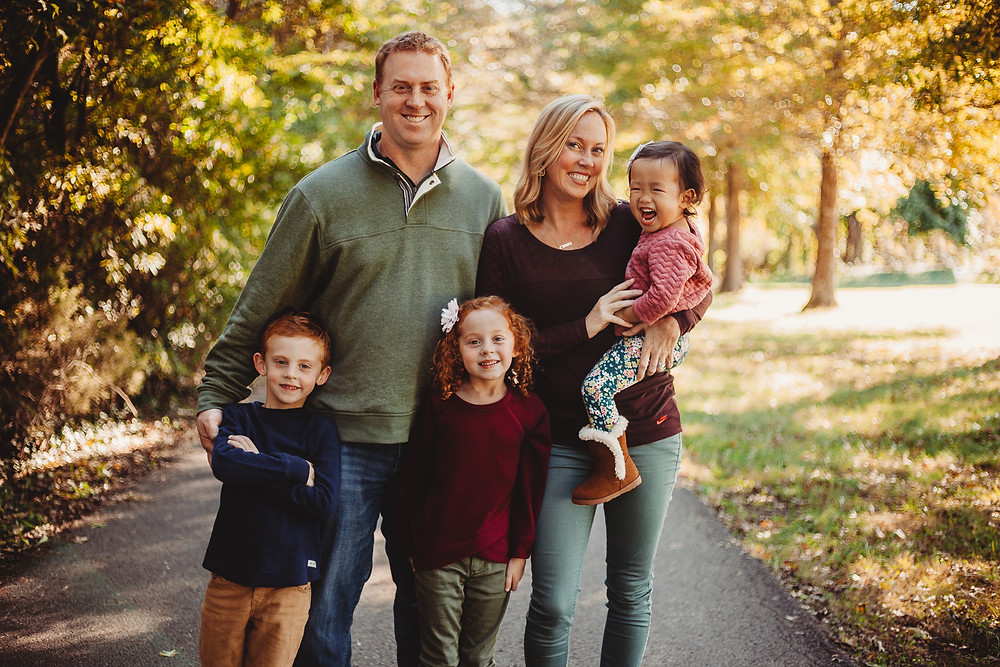 Fall family session in Knoxville, Tn