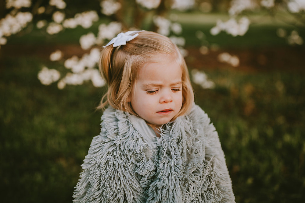 2 year old girl cold