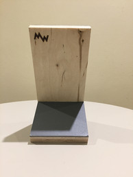 Ply Marmoleum iphone stand