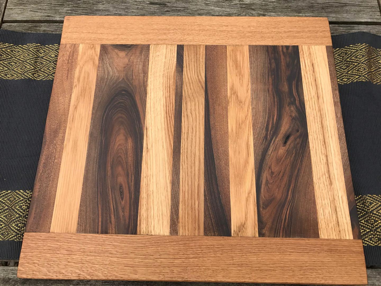 Chopping board oak Walnut