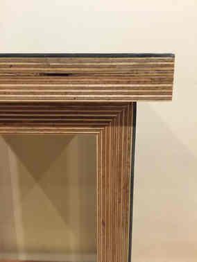 Ply Marmoleum table