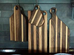 Hand made bread boards
