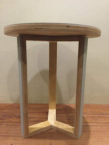 Round Ply Side table