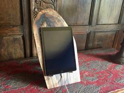 Walnut Ipad tablet stand