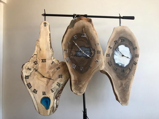 Epoxy Resin Clocks
