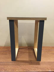 Black Ply Side Table