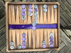 Epoxy Resin backgammon board