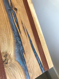 Grey Resin Epoxy cutting board