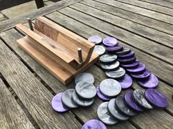 Backgammon counters