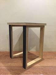 Ply Black Marmoleum Table