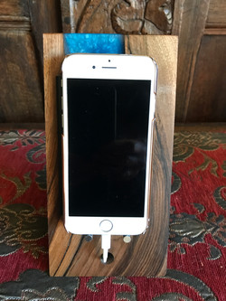 Epoxy Resin Iphone phone stand