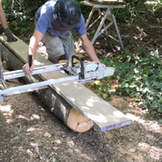Chain saw planking