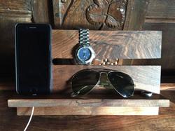 Walnut Epoxy Resin watch gadget